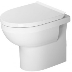 DuraStyle Stand-WC Rimless, Abgang waagerecht