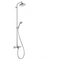Croma 220 Air 1jet Showerpipe Wanne , 27223000