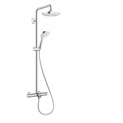 Croma Select E 180 2jet Showerpipe Wanne , 27352400