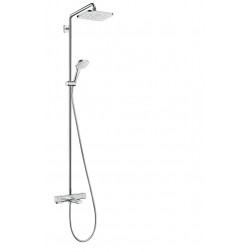 Croma E Showerpipe 280 1jet mit Wannenthermostat
