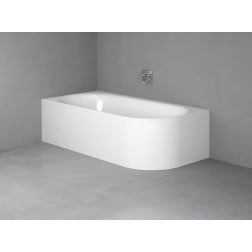 Lux Oval IV Silhouette Badewanne 3425-000CERVS