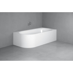 Lux Oval V Silhouette Badewanne 3435-000CELVS
