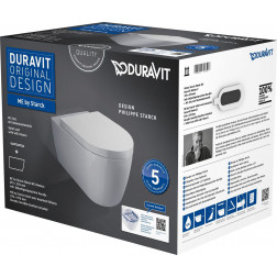 Me by Starck Wand-WC Duravit Rimless Set