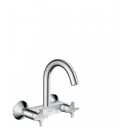 2-Griff Küchenmischer Wandmontage Highspout, Logis Classic 71286000